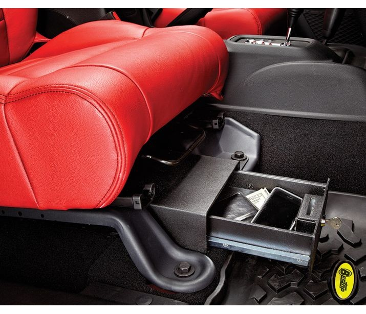 Bestop 42642-01 Underseat Storage Box