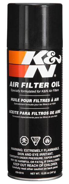K&N 99-0516 Air Filter Oil - 12.25oz - Aerosol